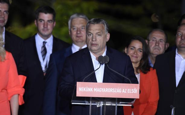 Orbán Viktor: Rekordrészvétel mellett rekordgyőzelmet arattunk