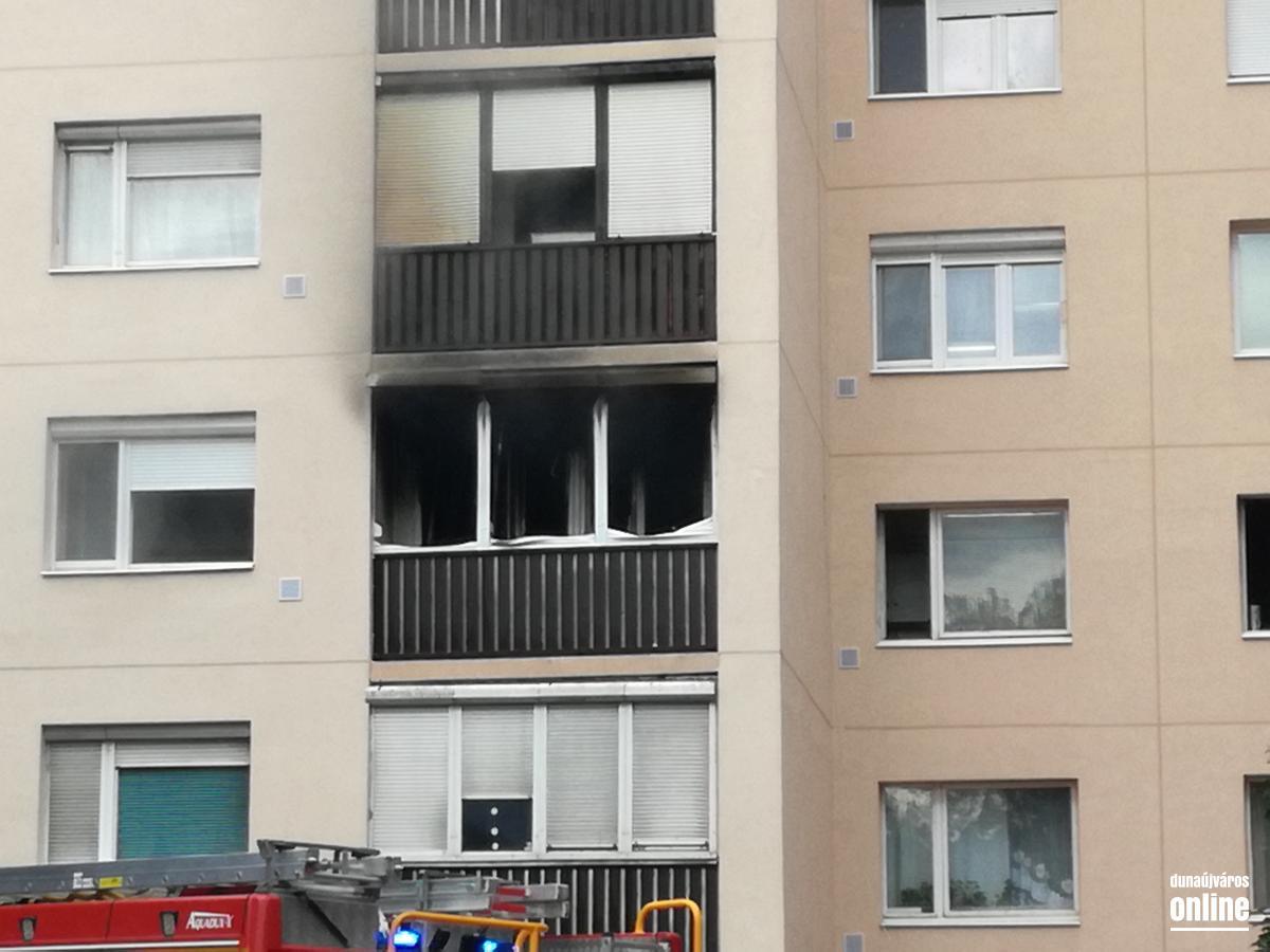 Lakástűz a Martinovicson, egy ember meghalt