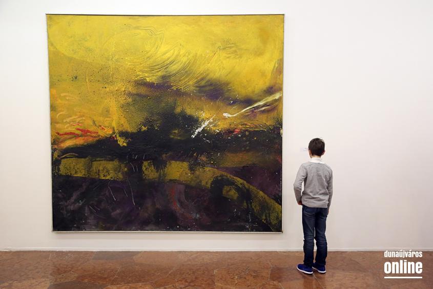 Két kiállítás a Kortársban - fotó: Sándor Judit