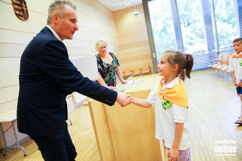 A félév diákjai - Díjátadó - fotó: Ónodi Zoltán