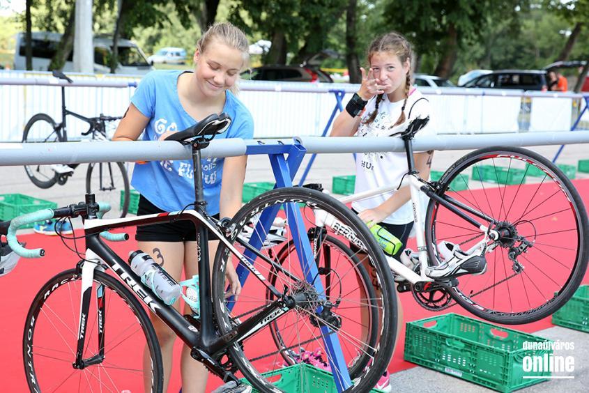 Szupersprint triatlon verseny - fotó: Sándor Judit