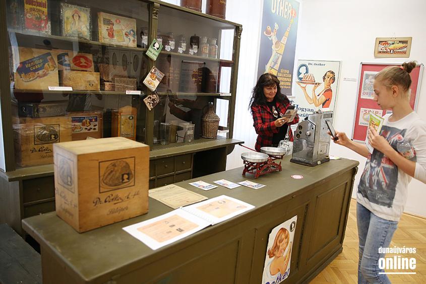 Dr. Oetker kiállítás a múzeumban - fotó: Sándor Judit