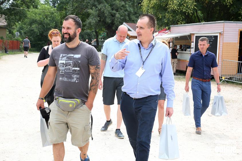 Rockmaraton 2018 - Polgármesteri helyszínbejárás - fotó: Sándor Judit