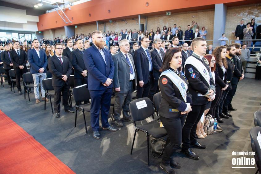 Diplomaátadó az egyetemen (2019. március) - fotó: Ónodi Zoltán