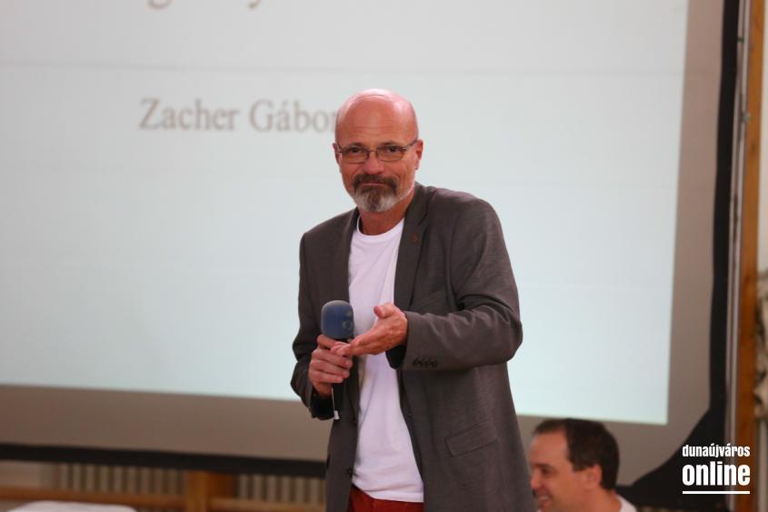 Zacher Gábor a Rudasban - fotó: Ónodi Zoltán
