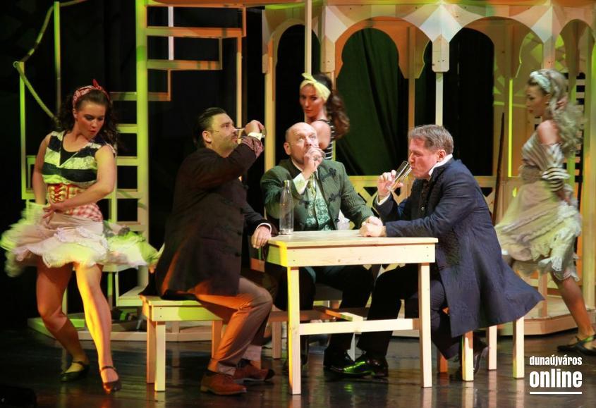 Sándor Mátyás - musical ősbemutatóra készül a Bartók - fotó: