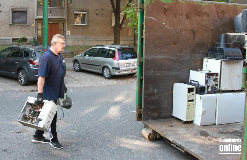 Négy városrészben folytatódott a gyűjtés - fotó: