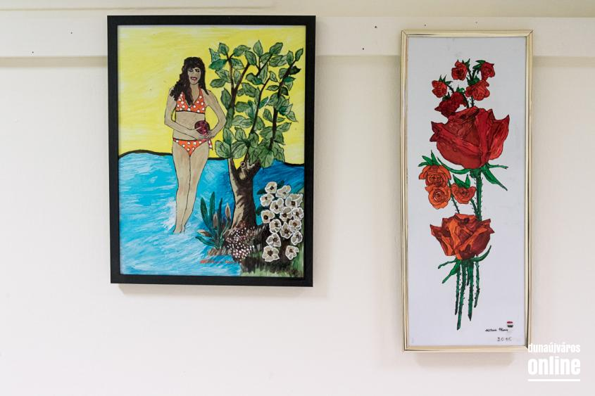 MMK Galéria: Katona Ilona üvegfestő kiállítása - fotó: Ónodi Zoltán