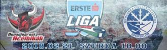 Dunaújvárosi Acélbikák - SC Csíkszereda negyeddöntő
