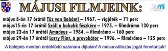 Bódy Gábor Filmklub májusi programja