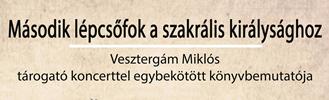 Vesztergám Miklós könyvbemutatója