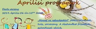 MMSZ Dunaújvárosi Játszótér – Játszóház április programjai