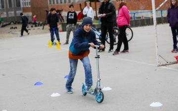 Petőfi Hét- Kerékpáros akadályverseny - fotó: Ónodi Zoltán