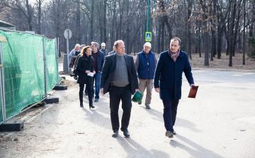 Jó ütemben halad az uszoda felújítása - fotó: Ónodi Zoltán