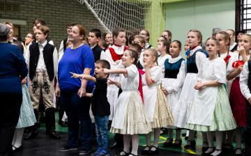 Pünkösdi Rózsa Gyermek Néptánctalálkozó 2019 - fotó: Ónodi Zoltán