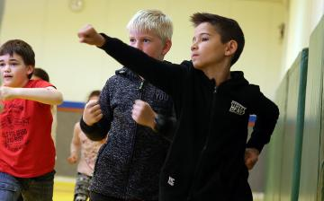 Arany iskola - Gyereknap - fotó: Sándor Judit