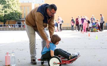 Családi nap a Petőfi iskolában (2019) - fotó: Sándor Judit