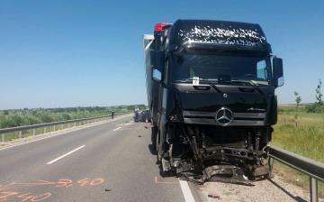 Halálos baleset a 62-es úton - fotó: