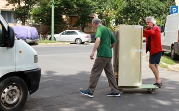 Gyűjtőakció a Rómain: mindent bele! - fotó: