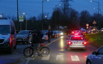 A város lezárása - fotó: