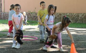 Gyereknap az Aprók Háza Tagóvodában - fotó: