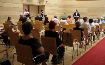 Pedagógusnapi 2021 - ünnepség a Városházán - fotó:
