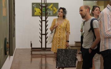 Móder Rezső kiállítása a Kortárs Művészeti Intézetben - fotó: