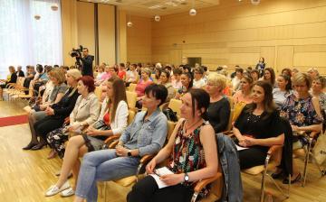 A Dunaújvárosi Óvoda ünnepsége a Városházán - fotó: