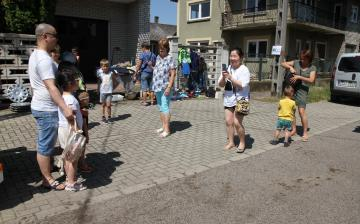 Újtelepi Garázsvásár a kánikulában - fotó:
