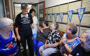 50 éves a Martinovics utca 19. közössége - fotó: