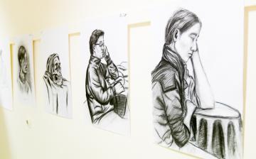MMK galéria: Szőke Ivett kiállítás megnyitó - fotó: Ónodi Zoltán