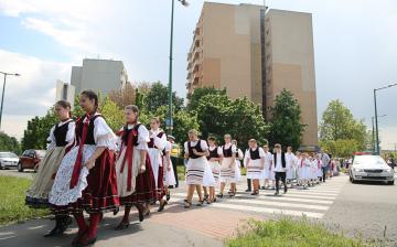 I. Pünkösdi Rózsa Gyermek Néptánctalálkozó - fotó: Ónodi Zoltán