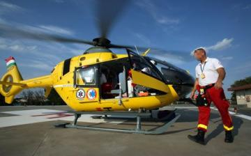 Súlyos baleset, helikopteres mentés a 62-esen