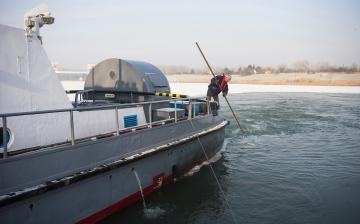 Teljes hajózási tilalom a Dunán
