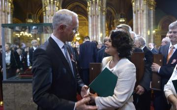 Átadták a Kossuth- és Széchenyi-díjakat