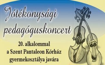 Pedagógusok jótékonysági koncertje