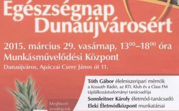 Egészségnap Dunaújvárosért!