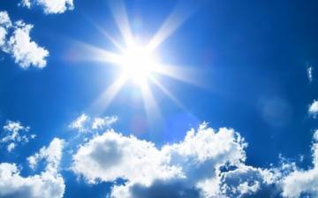 Sok napsütés, harminc fok