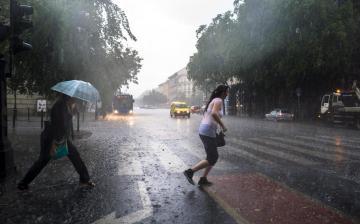 Az eső sem hoz enyhülést