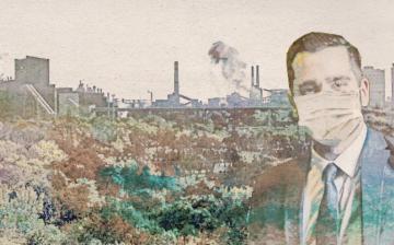 A dunaújvárosi füsttől fuldoklik Pintér Tamás, miközben Gyurcsány bábjaként azokhoz dörgölőzik, akik a helyzetet előidézték