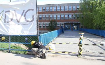 Javítják a Petőfi iskola hídját
