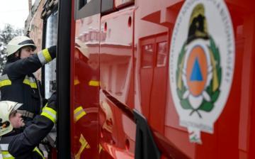 Kitüntették a dunaújvárosi tűzoltó őrmestert