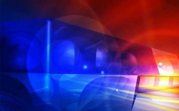 Villanyoszlopnak csapódott egy mentőautó Pusztaszabolcson