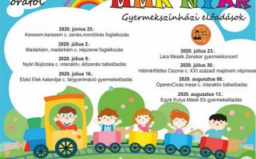Gyermekszínházi előadások az MMK-ban