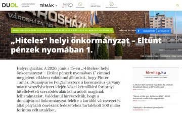 Újabb nyertes sajtóper, ezúttal a Dunaújvárosi Hírlappal szemben