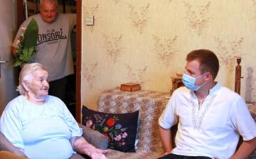 DSTV: Margit nénit köszöntötte az alpolgármester