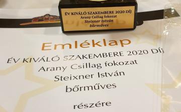 Újabb rangos elismerés a Steixner-műhelynek