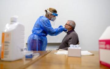 Koronavírus: több mint 62 ezer minta, 1,97 százalékos pozitivitás a harmadik körben