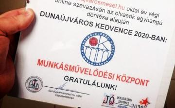 Az MMK lett Dunaújváros Kedvence 2020-ban