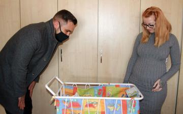 Az év első újszülöttjét köszöntötte a polgármester
